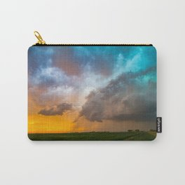 Glorious - Stormy Sky and Kansas Sunset Carry-All Pouch