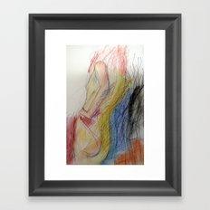 Klooster Series: Female Nude #11 Framed Art Print