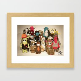 Sgt Felty's Lonely Hearts Club Band Framed Art Print