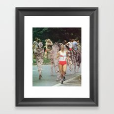 Boulder Dash Framed Art Print