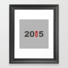2015-London Framed Art Print