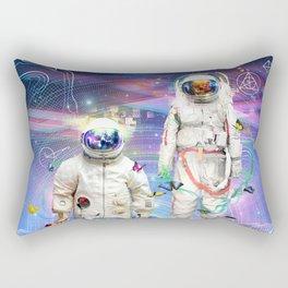 Final Frontier Rectangular Pillow