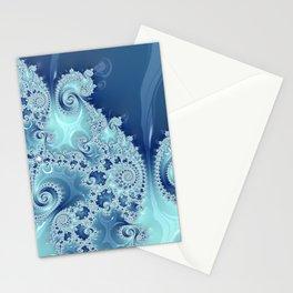 Liquid Mandelbrot Stationery Cards