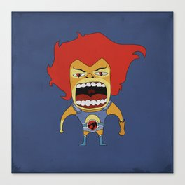 Screaming Lion-O Canvas Print