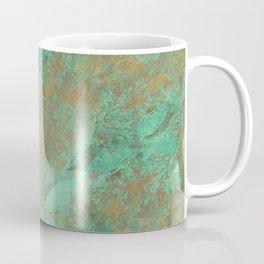 Verdigris Patched Texture Coffee Mug