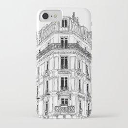 Parisian Facade iPhone Case