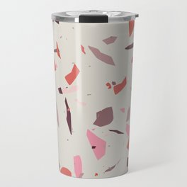 Rose Terrazzo - Light Travel Mug