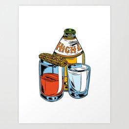 High Life Art Print