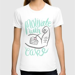Motivate with Cake T-shirt