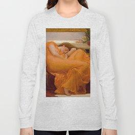 FLAMING JUNE - FREDERIC LEIGHTON Long Sleeve T-shirt