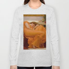 FLAMING JUNE - FREDERIC LEIGHTON Long Sleeve T-shirt