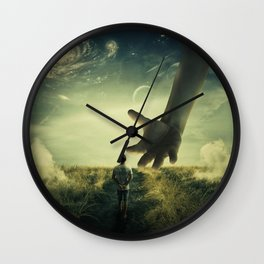 Planet of Giants Wall Clock