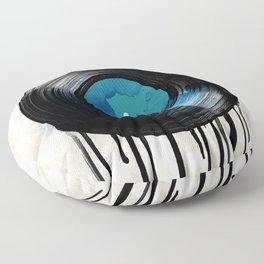 vinyl drip Floor Pillow
