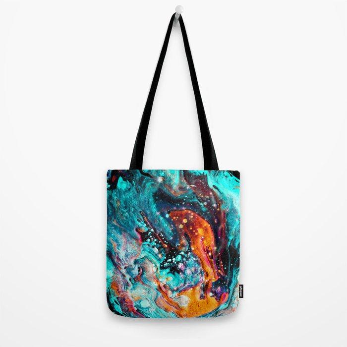 Paint Swirl Euphoria Tote Bag