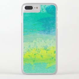 Abstract No. 482 Clear iPhone Case