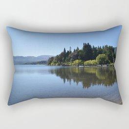 Lolog Lake, Patagonia Rectangular Pillow