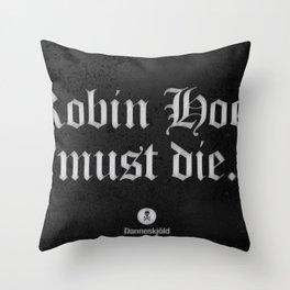 Message from Danneskjöld / Atlas Shrugged Throw Pillow
