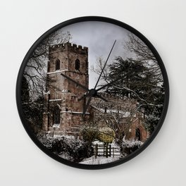 St Botolph's Church, Rugby, Warwickshire Wall Clock