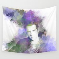 stiles Wall Tapestries featuring Stiles by NKlein Design