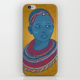 Masai Princess iPhone Skin