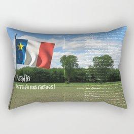 Acadie terre de nos racines ! Rectangular Pillow