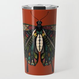 swallowtail butterfly terracotta Travel Mug