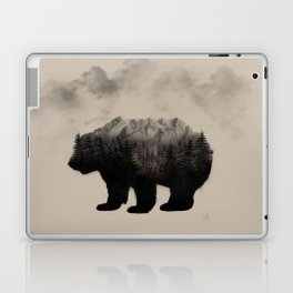 WHEN NATURE TALKS Laptop & iPad Skin