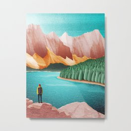 DREAM VACATION / Alberta, Canada Metal Print