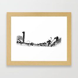 Crotone Framed Art Print