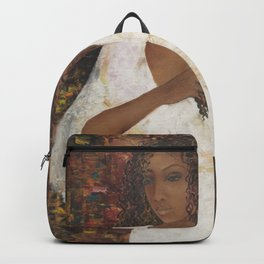 Brazilian Girl in Night Gown Backpack