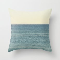 Like The Sea II Throw Pillow
