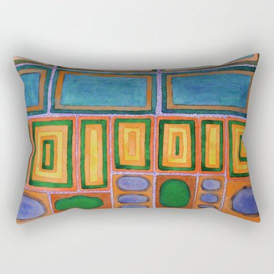 Gemstones beside the Window  Rectangular Pillow
