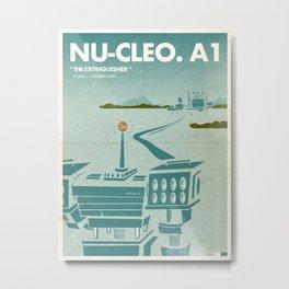 Big Robot  |  Nu-Cleo.A1 Metal Print