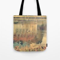 lonely Tote Bags featuring Lonely by Rose Etiennette