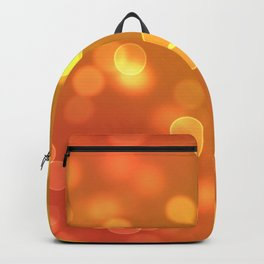 Gold Bokeh Lights Backpack