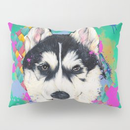 Husky Malamute Pillow Sham