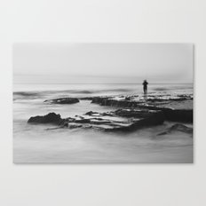 Cottesloe Fisherman Canvas Print