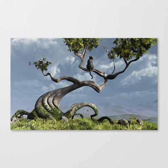 The Sitting Tree Canvas Print