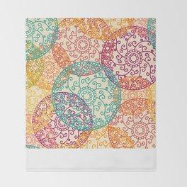 Indian pattern Throw Blanket