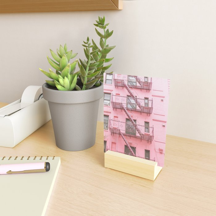 Pink Soho NYC Mini Art Print