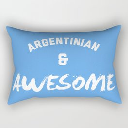 Argentina & Awesome Rugby Rectangular Pillow