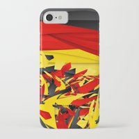 germany iPhone & iPod Cases featuring Germany by Danny Ivan