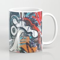 deadmau5 Mugs featuring Mickey Mau5 by Matt Pecson