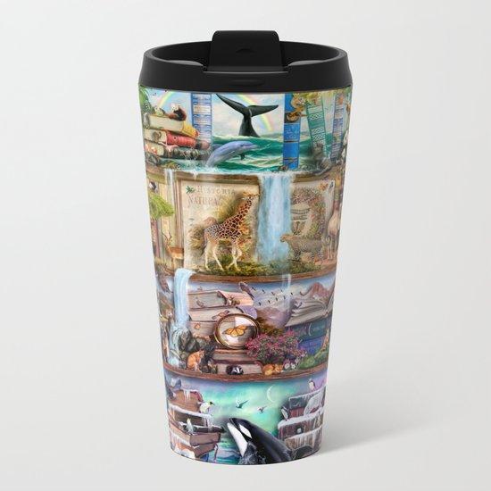 The Amazing Animal Kingdom Metal Travel Mug
