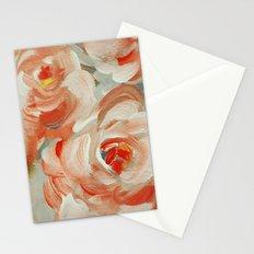 Shabby Flowers Stationery Cards