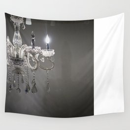Chandelier wall tapestries society6 chandelier in nyc wall tapestry aloadofball Image collections