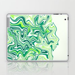 Fresh Lime Agate Slice Laptop & iPad Skin