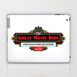 Great Movie Ride Sign Laptop & iPad Skin