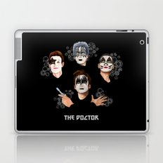 The Doctor who face painting iPhone 4 4s 5 5c 6 7, pillow case, mugs and tshirt Laptop & iPad Skin