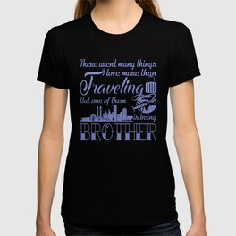 Traveling Brother T-shirt